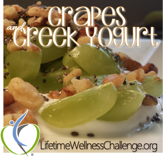 Grapes and Greek Yogurt
