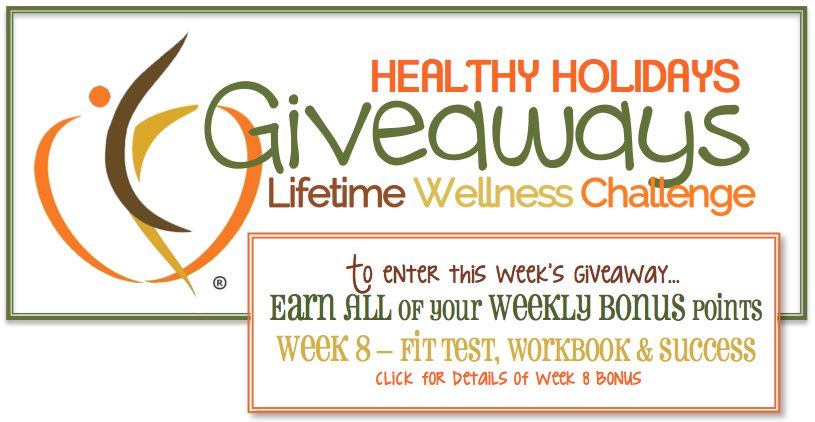 Final Healthy Holiday Giveaway Entry