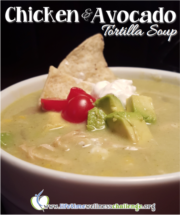 Chicken Avocado Tortilla Soup