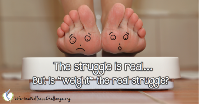 Do you struggle with your weight?
